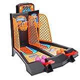 VGEBY Mini Baloncesto de Mesa, Juguete de sobremesa de Baloncesto para niños Juego de Mesa Disparos de catapultas Juego