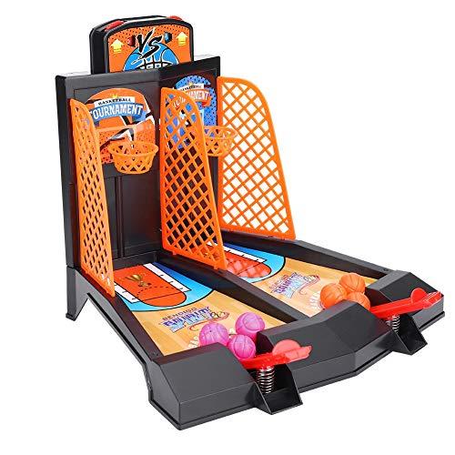VGEBY Mini Baloncesto de Mesa, Juguete de sobremesa de Baloncesto para niños...