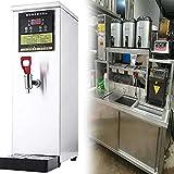 Restaurante comercial Dispensador de agua caliente,Barra de bar tienda de té con leche Pequeña Dispensador de agua caliente,El volumen de producción de agua es 50L / H,2500W acero inoxidable