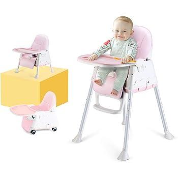 Eco toys Chaise haute Si/ège denfant inclinable 3 en 1 multifonctionnel