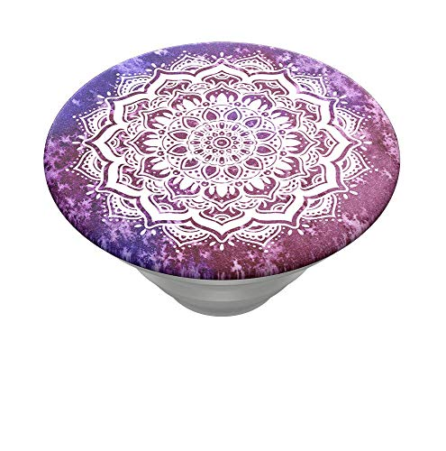 PopSockets PopTop (Top only. Base Sold Separately.): Swappable Top for PopGrip Bases, PopGrip Slide, Otter+Pop & PopWallet+ - Magenta Mandala