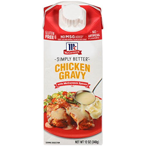 McCormick Simply Better Chicken Gravy, 12 oz (Pack of 8)