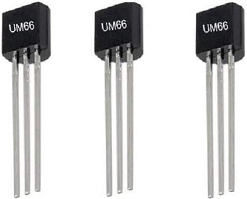 SDIY ELECTRONICS UM66 IC Musical Generated Ic Melody Generated Ic Um66ic Set Of 3Pcs