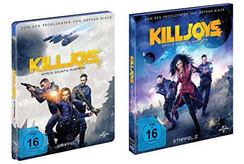 Killjoys - Space Bounty Hunters: Staffel 1+2 [Blu-ray]