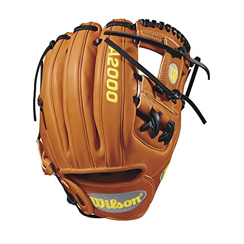 Wilson A2000 DP15 Pedroia Fit 11.5' Infield Baseball Glove - Right...