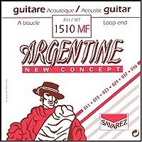 サバレス アコースティックギター弦 ジャズギター弦 ジプシーギター用 SAVAREZ ARGENTINE JAZZ STRINGS (1510MF Loop End, Light, 1セット)