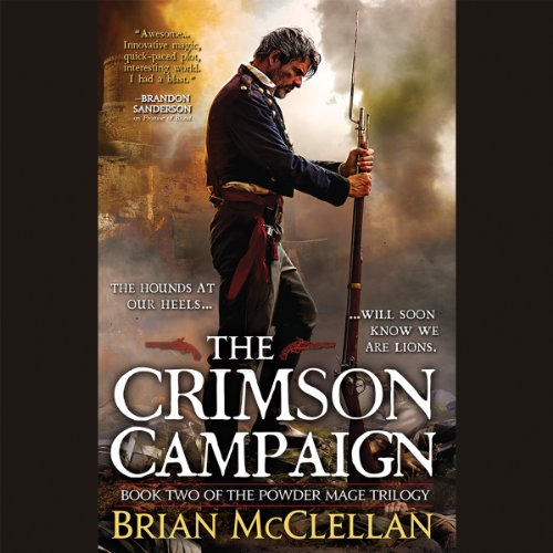 The Crimson Campaign audiobook cover art
