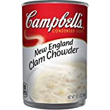 Campbell'sCondensed New England Clam Chowder, 10.5 Ounce (Pack of 12)
