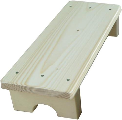 YONG FEI échelle de cuisine échelle en bois Petits tabourets Tabouret en bois pour adultes et tout-petits étagère à fleurs pour balcon échelle tabouret (Couleur   blanc, Taille   50x20x11cm)