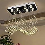 LED Lampade da soffitto Lámpara de ara?a de cristal moderna Lámpara de cristal...