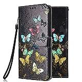 Funda Libro para Samsung Galaxy J3 2017 Carcasa de Cuero PU Premium Flip Wallet Case Cover con Tapa...