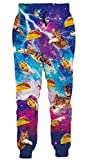 Women Galaxy Pants Funny Adult Onesies 80s 3D Joggers for Men Cat Pajamas Teens Graphic Sweatpants Animal PJS for Boys Sport Trouser with Pockets Outdoor Trip Galaxy Champion Sweatpants