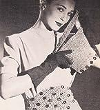 crochet jeweled bag purse handbag and belt pattern (english edition)