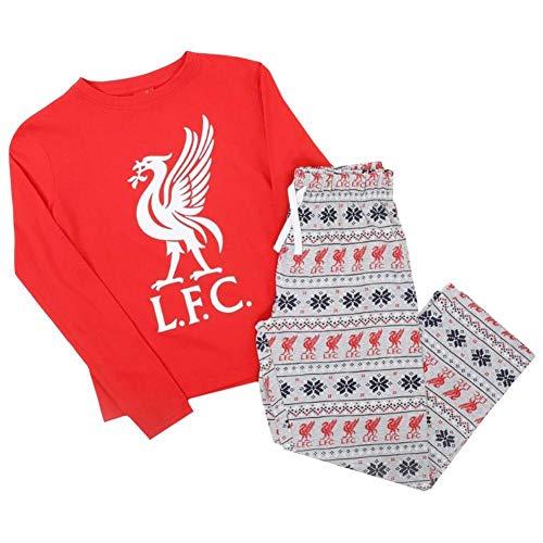 Liverpool FC - Pijama para bebé (6/9 m), color rojo