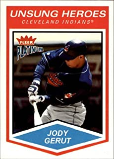 2004 Fleer Platinum #163 Jody Gerut UH MLB Baseball Trading Card