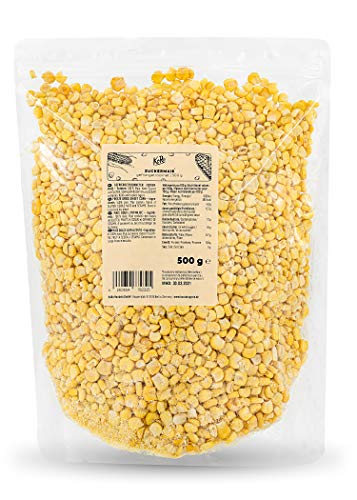 KoRo - Gefriergetrockneter Mais - 500 g - Schonend getrockneter Zuckermais