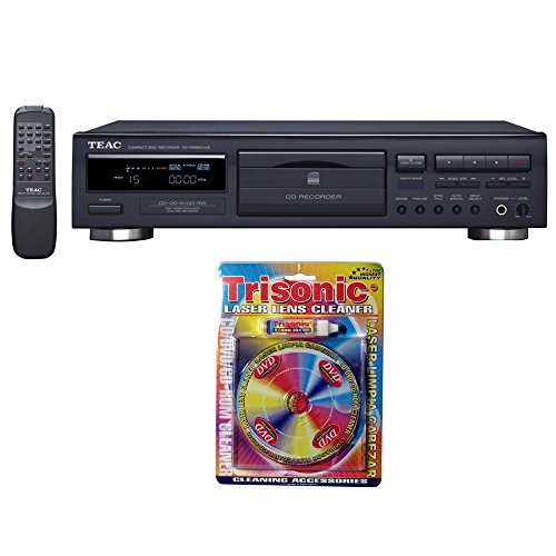 Teac CD Recorder with Remote (6-CD-RW890MK2-B) with Trisonic Laser Lens Cleaner for DVD/CD Players