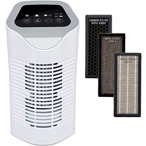 NETTA Air Purifier For Allergies With True HEPA & Active Carbon Filters,...