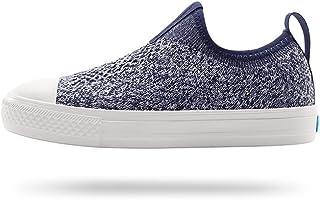People Footwear Kids Sneaker Phillips Child Knit, Paddington Blue/Yeti White, C13
