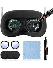 Bolígrafo de Limpieza de Lentes para Oculus Quest 2,Limpieza de Polvo y Huellas Dactilares de Lentes ópticas,Marco de Protección de Lentes,Paño de Limpieza,Almohadilla de Protección de Lentes