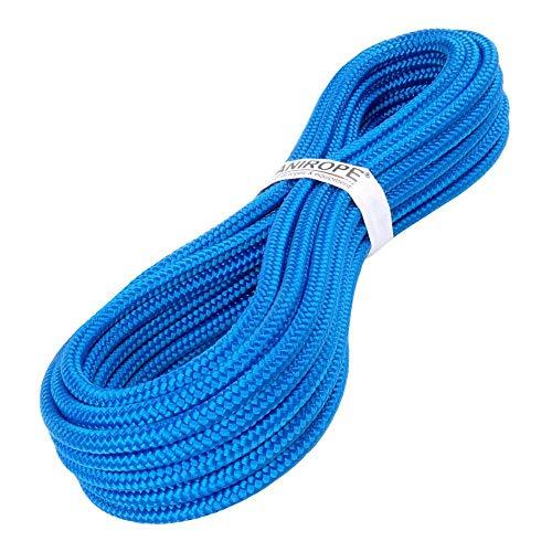 Kanirope® PP Seil Polypropylenseil MULTIBRAID 12mm 10m geflochten Farbe Blau (0912)