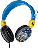 Batman Over The Ear Headphones HP1-01057 | Soft and Cushioned Ear Pieces to Fit Any Size, Adjustable Headband Headphones, Great Sound, Volume Limiting Technology
