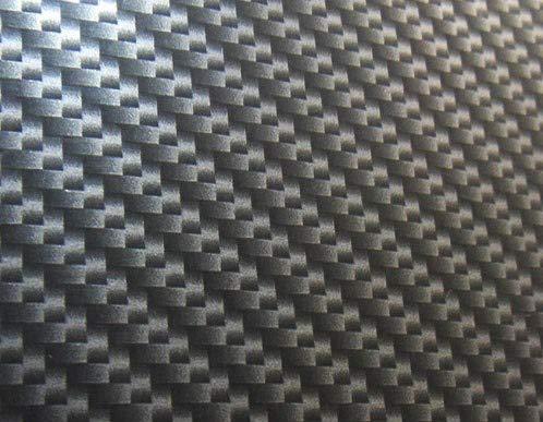 MST-DESIGN Wassertransferdruck Folie I Starter Set Groß I WTD Folie + Dippdivator/Aktivator + Zubehör I 4 Meter mit 50 cm Breite I Carbon I CD-221-2