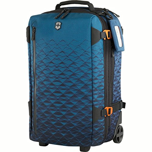 Victorinox VX Touring Wheeled 2-in-1 Carry-On with Padded Straps, Dark Teal