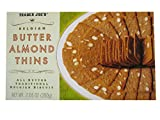 2 Packs Trader Joe's Belgian Butter Almond Thins 7.05 oz