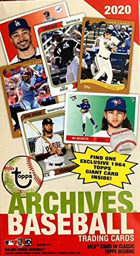 2020 Topps Archives MLB Baseball BLASTER box (7 pks/bx)