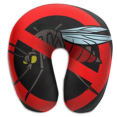 Avión Multifuncional del Coche de la Almohada del Viaje del Mosquito del Cuello de la Almohada en Forma de U