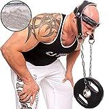 Casque de renforcement du cou - Musculation de la tête - Confort - CP Sports
