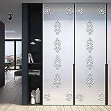 decalmile 24 Piezas 3D Pegatinas de Pared Espejos de Acrílico Vinilos Decorativos Geométrica Rodapié Espejos Adhesivos Pared Habitación Salón Dormitorio Hogar Decoración(12cm X 12cm)