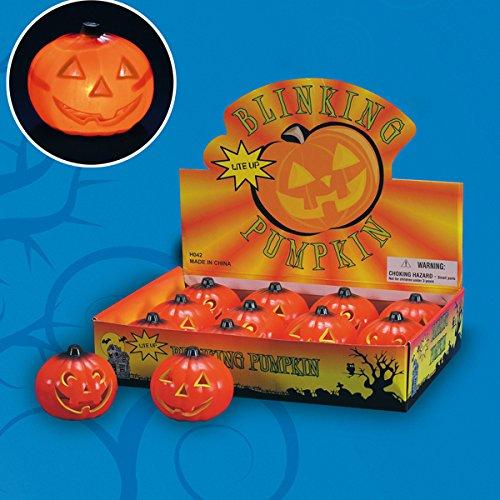 Halloween Sucette avec lumière 9 cm (Vendue à l'unité) CRNT7445