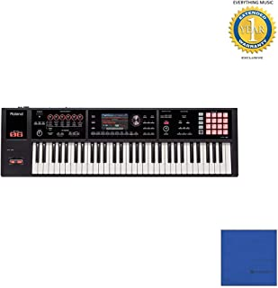 Roland FA-06 61-Key Workstation with Microfiber and 1 Year Everything Music Extended Warranty