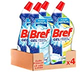 Bref Gel Limpiador WC Baño - Pack de 4 Unidades