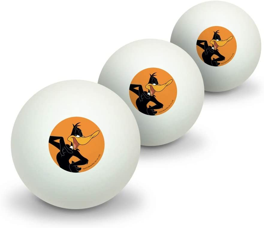 GRAPHICS MORE Looney Popular brand in the world Tunes Daffy Pin Duck Weekly update Table Tennis Novelty
