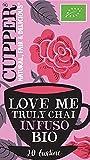 CUPPER Love Me Truly Chai Infuso Biologico di Cannella, Zenzero e Chiodi di Garofano 20 bustine