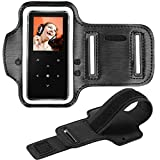 Adjustable Sport Armband for BERENNIS MP3 Player, Hands-Free for Running, Black,1 Pack(Compatible with BERENNIS MP3 Player only!)