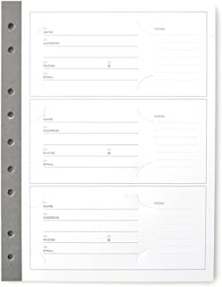 RUSSELL+HAZEL Mini Smartdate People Tracker Pages - Charcoal