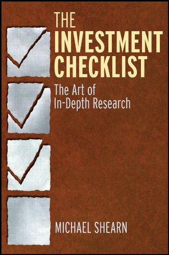 Image OfThe Investment Checklist: The Art Of In-Depth Research