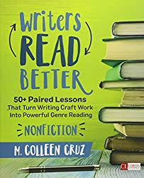 This is a screenshot of the cover of the book Writers Read Better: Nonfiction by M. Colleen Cruz.