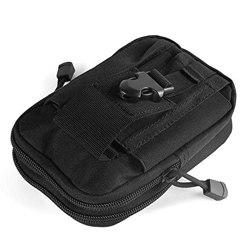 N / E Bolsa de tela Oxford multifuncional para uso al aire libre, bolsa de tela para senderismo, viajes, riñonera para motocicleta, deportes, 5 colores
