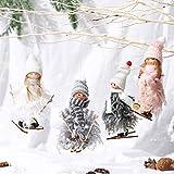 Makone Ciondolo Decorazione Domestica Bambola Angelo, Ornamento da Appendere Bambola fata per Feste, Festival, Etichette Regalo e Decorazioni Domestiche Quotidiane (4 PCS)