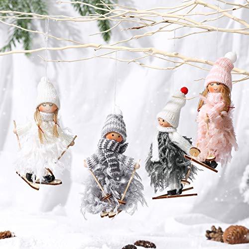 Makone Ciondolo Decorazione Domestica Bambola Angelo, Ornamento da Appendere Bambola fata per Feste,...