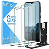 MAYtobe [4 Pack] Tempered Glass For Samsung Galaxy A10E,Galaxy A20E Screen Protector with Easy Installation Tray, anti Scratch, Bubble Free, 2.5D Edge, 9H Hardness