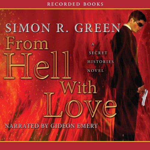 From Hell with Love audiobook cover art