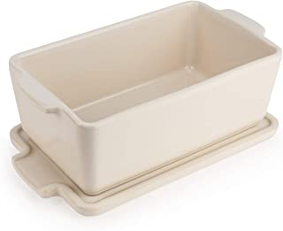 Peugeot Appolia Covered Terrine Dish, 6.1 x 3.6 x 2.4 inch interior, Ecru