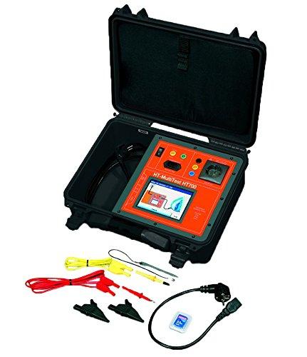 HT-Instruments MultiTest HT700+ Set BGV A3 Tester inkl. Barcodescanner, Barcode- & Prüfetiketten
