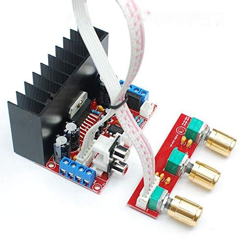TDA7377 2.1CH Verstärker Single Power Computer Super Bass 2.1 Verstärkerplatine 3 Kanal Sound Verstärker DIY Suit Kits - Rot